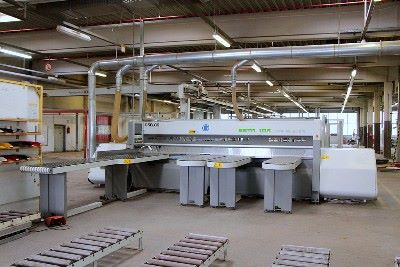 Single-sided panel saw with lifting table BIESSE SELCO EBTR 108 TP